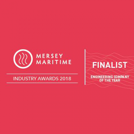 Mersey Maritime - Finalist for Engineering company of the year - Industry Awards 2018